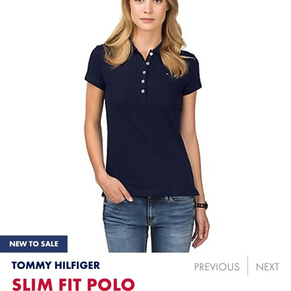 1d9fb79e Tommy Hilfiger Other | The New Women Slim Fit Polo | Poshmark